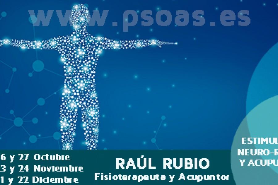 Entrevista a Raúl Rubio, profesor del curso de ENR y acupuntura