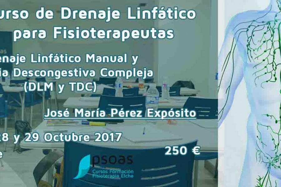 Curso de drenaje linfático Alicante