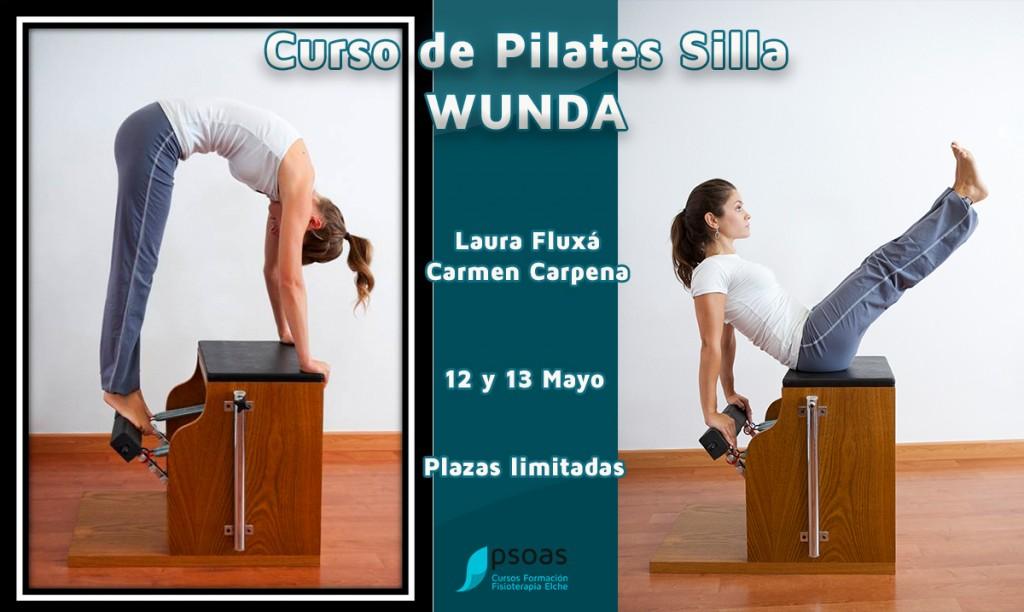 Curso de pilates silla wunda