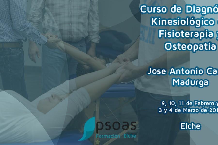 Cursos de fisioterapia Alicante Febrero-Marzo 2018