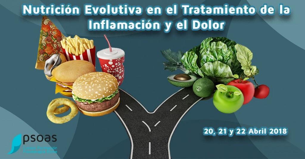 Nutrición Evolutiva en el Tratamiento de la inflamación y el dolor