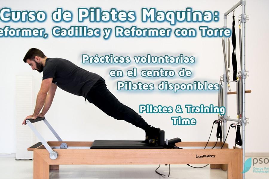 Entrevista a Emilio Ferrer, profesor del curso de Pilates Máquina