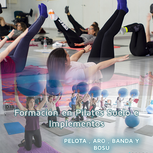 Curso de Instructor de Pilates Suelo e Implementos