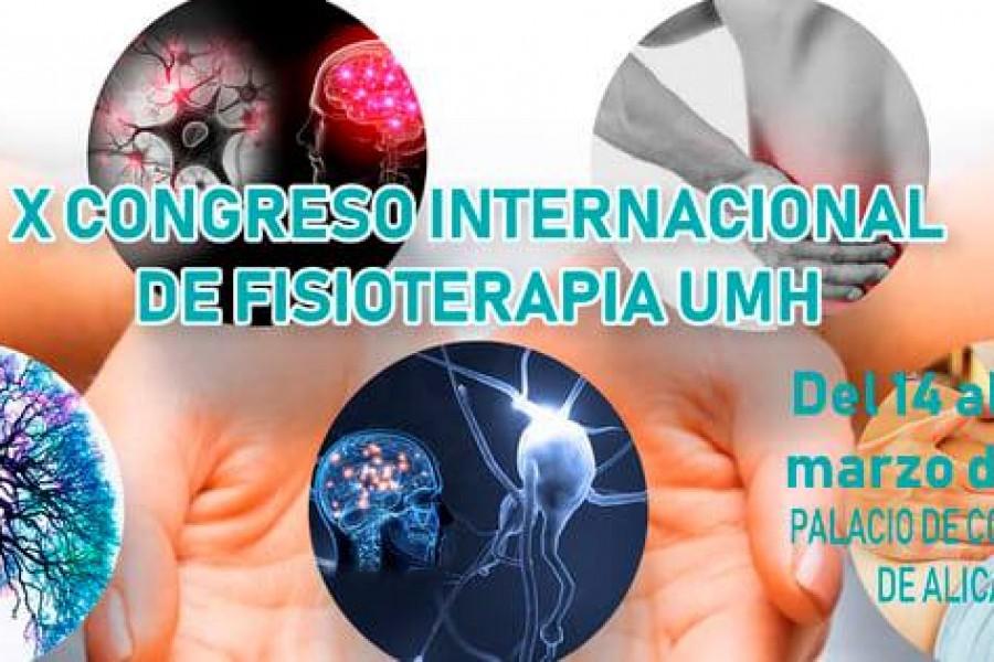 X Congreso de Fisioterapia UMH