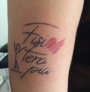 amor fisioterapia tatoo