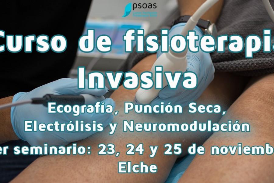 Curso de fisioterapia invasiva: Ecografía, Neuromodulación, Electrólisis