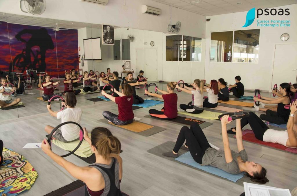 curso Pilates Suelo Alicante fisioterapia cafd