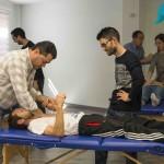 curso de drenaje linfatico con Jose María Pérez