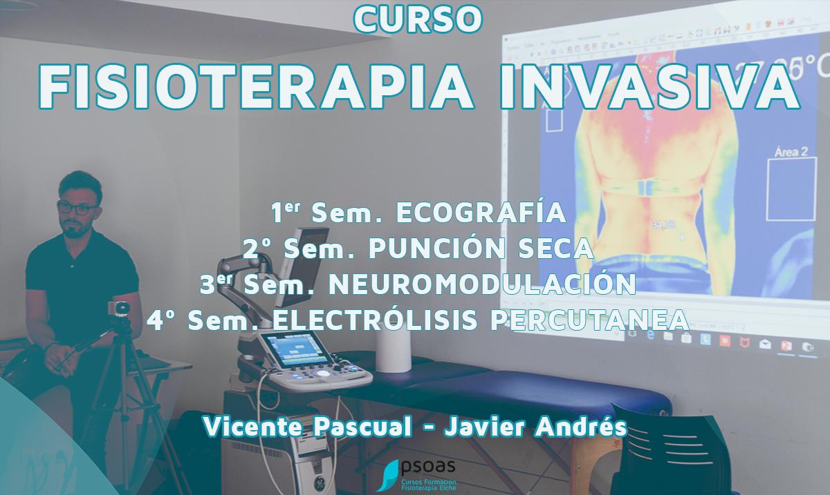 curso de fisioterapia invasiva