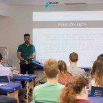 Javier Andrés en el Curso de fisioterapia Invasiva con Psoas Formación