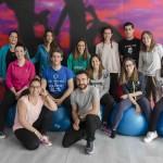 foto de grupo curso de pilates suelo alicante