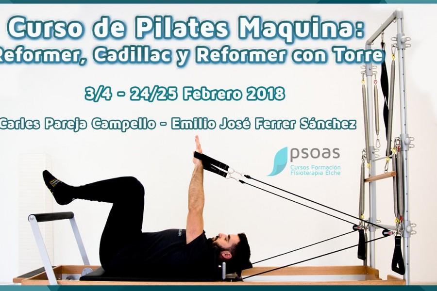 Curso Pilates de Máquina