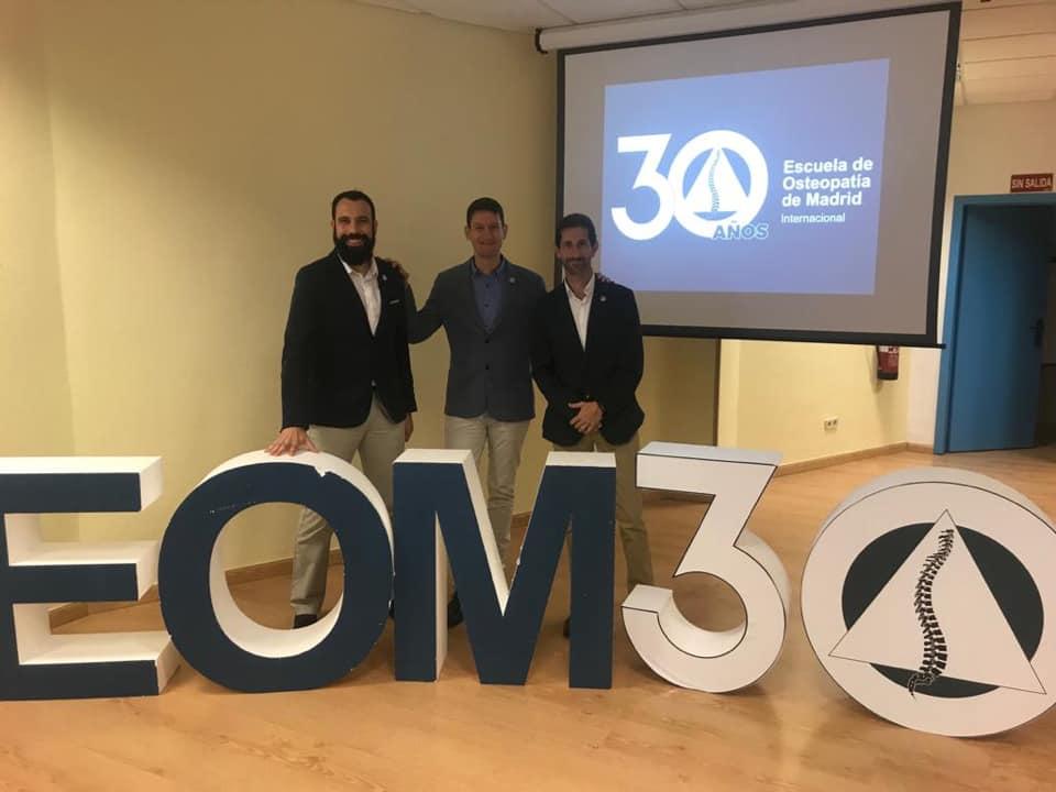Juan Manuel de los Santos en el 30 aniversario de la EOM