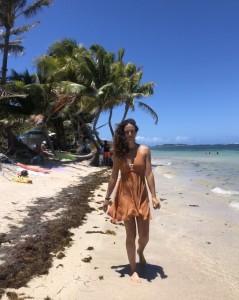 maria, fisioterapeuta en la isla martinique