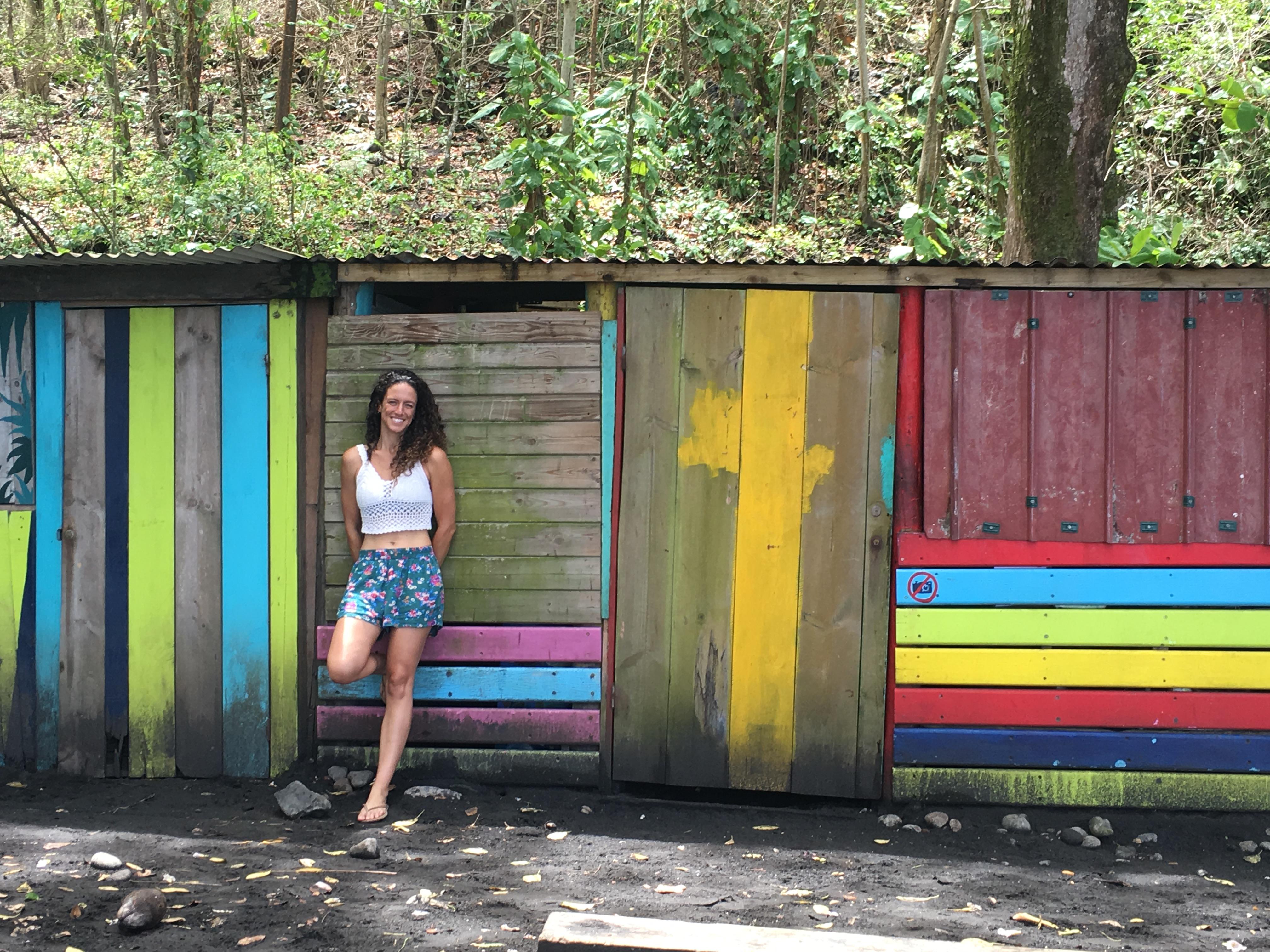Maria, fisioterapeuta en isla Martinique