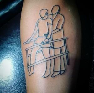 tatuaje fisioterapia rehabilitacion